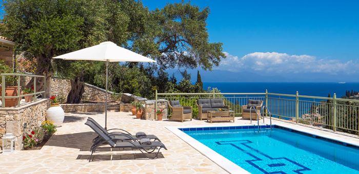 Villas With Pools Loggos Paxos