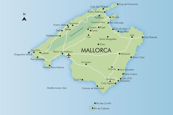 Map Of Spain Majorca.Luxury Mallorca Holidays 2019 20 Simpson Travel
