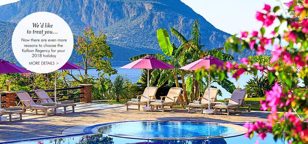 Kalkan Regency Stylish Boutique Simpson Hotel In Kalkan