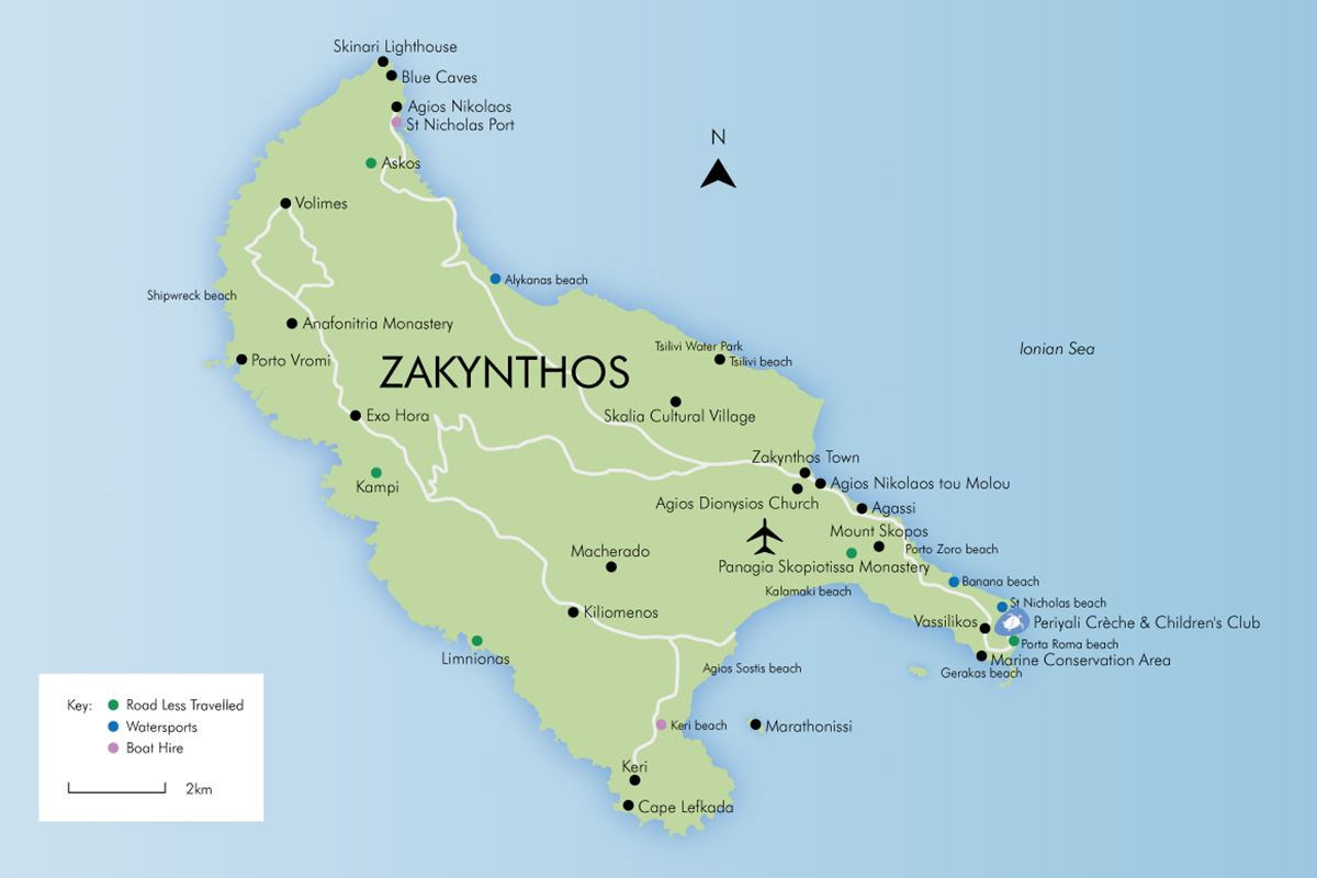 Luxury holidays in zakynthos simpson travel enlarge map gumiabroncs Images
