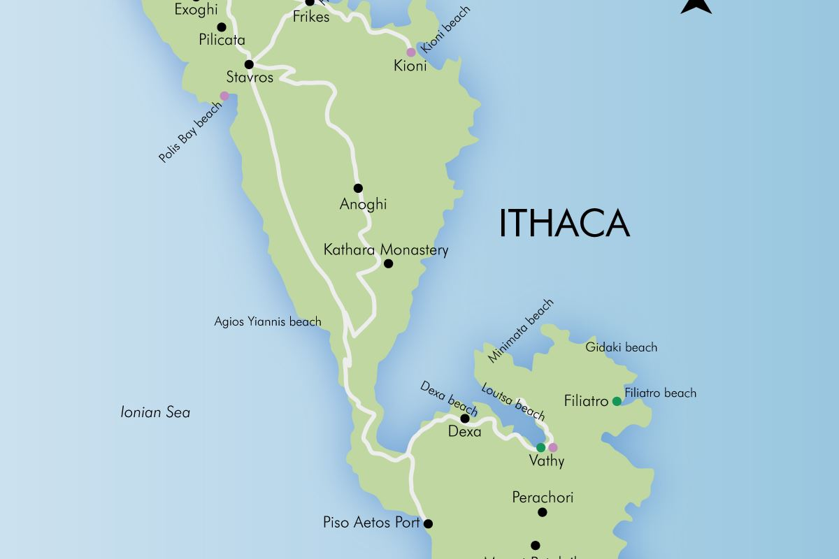 Ithaca Greece Map Luxury holidays in Ithaca, Greece | Simpson Travel