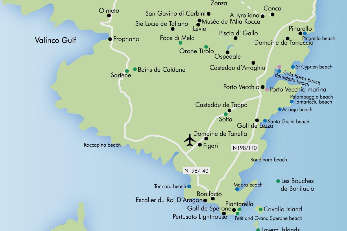 Luxury holidays in porto vecchio and bonifacio simpson for Porto vecchio